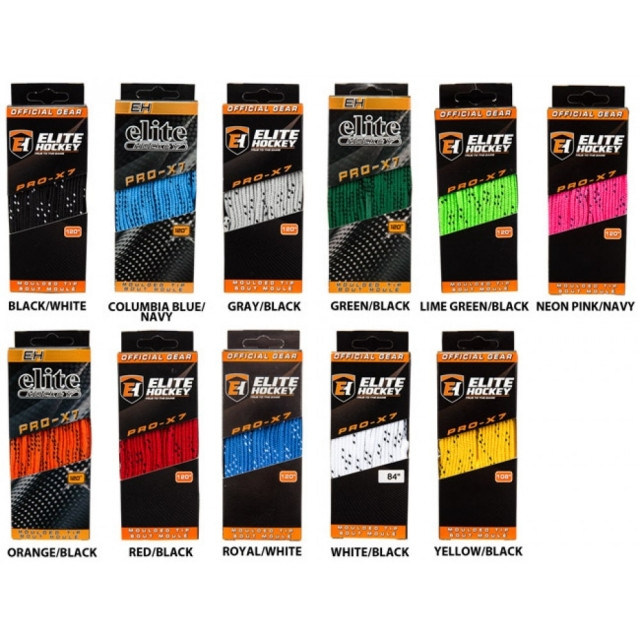 Шнурки хоккейные Elite PRO-X7 wide
