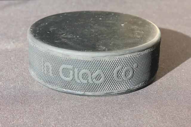 Шайба хоккейная официальная NHL, InGlasCo
