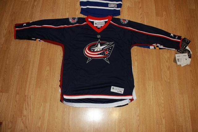 Свитер хоккейный NHL CBJ, Reebok оригинал