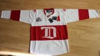 Свитер хоккейный профессиональный NHL Reebok - Detroit Red Wings Зимняя классика 2009